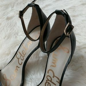 Sam Edelman Shoes - SAM EDELMAN • Patti Ankle Strap Sandal Pumps Heels